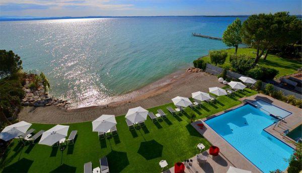 Vista lago di Garda